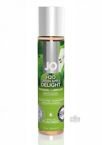 System JO H2O Flavored Lubricant Green Apple 1oz