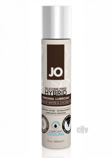 Jo Silicone Free Hybrid Lubricant Coconut Cool 1oz