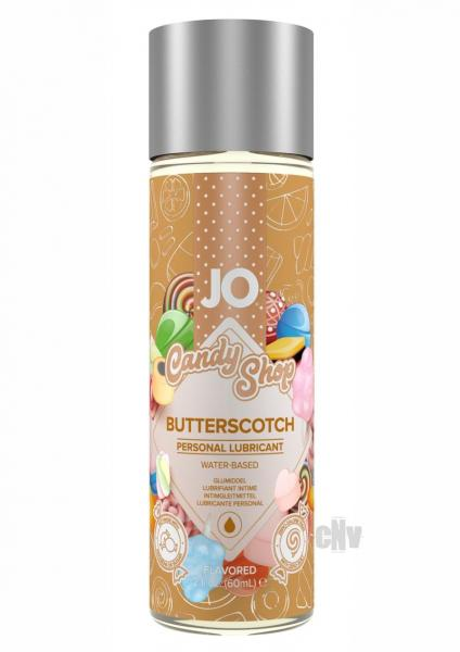 JO H2O Candy Shop Butterscotch Personal Lubricant 2oz