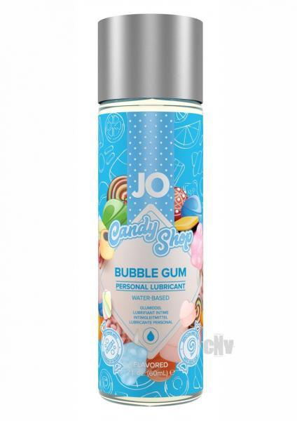 JO H2O Candy Shop Flavored Bubble Gum Lubricant 2oz