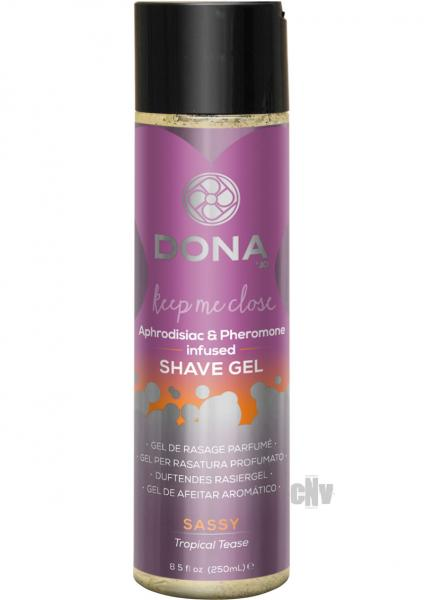 Dona Shave Gel Tropical Tease 8.5oz