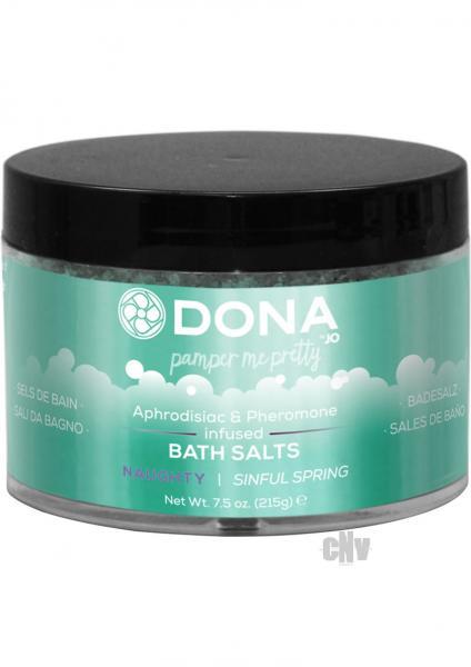 Dona Bath Salt Sinful Spring 7.5oz