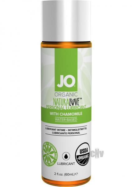 System Jo USDA Original Organic Lubricant 2 oz