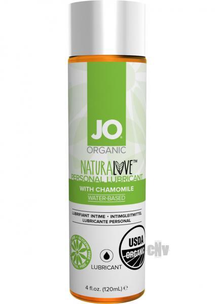 System JO USDA Original Organic Lubricant 4 oz