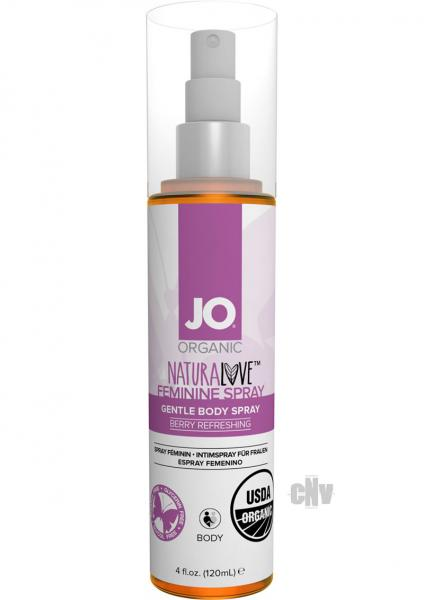 JO USDA Organic Feminine Spray 4oz