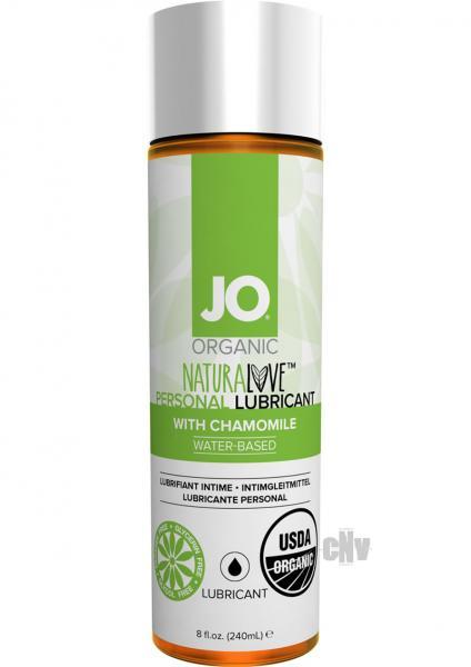 System JO USDA Original Organic Lubricant 8 oz