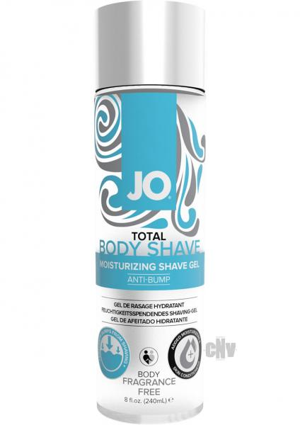 JO Total Body Anti Bump Shaving Gel Unscented 8oz