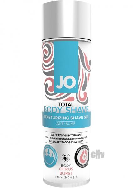 JO Total Body Anti Bump Shaving Gel Citrus 8oz