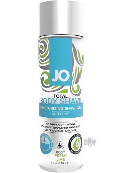 JO Total Body Anti-Bump Shave Gel 8oz Lime