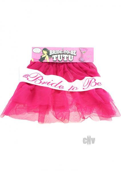 Bride To Be Tutu Pink O/S