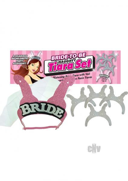 Naughty Bridal Tiara Set