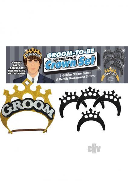 Groom Crown Set