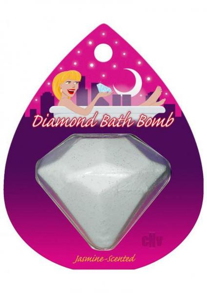Diamond Bath Bomb Jasmine Scented