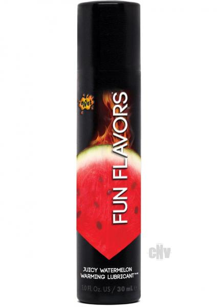 Wet Fun Flavors Lubricant Juicy Watermelon 1oz