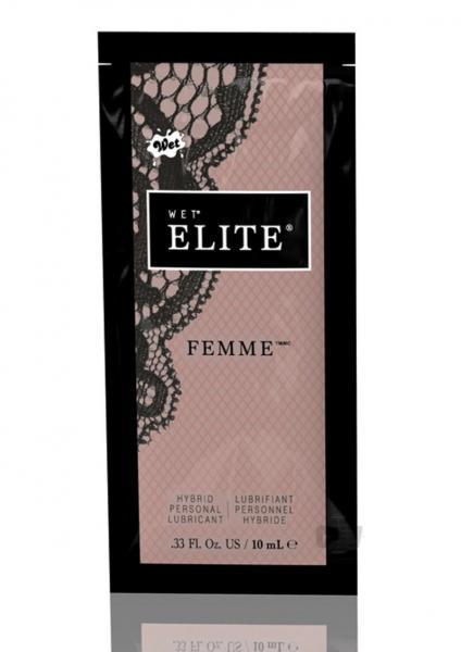 Wet Elite Femme Hybrid Lubricant .33fl.oz Pouch