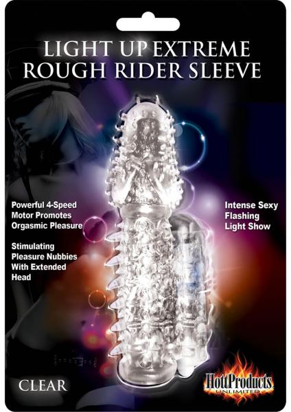 Wet Dreams Light Up Rough Rider Sleeve