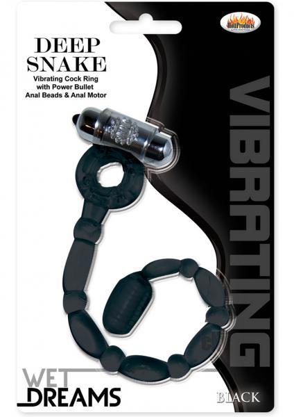 Wet Dreams Deep Snake Black