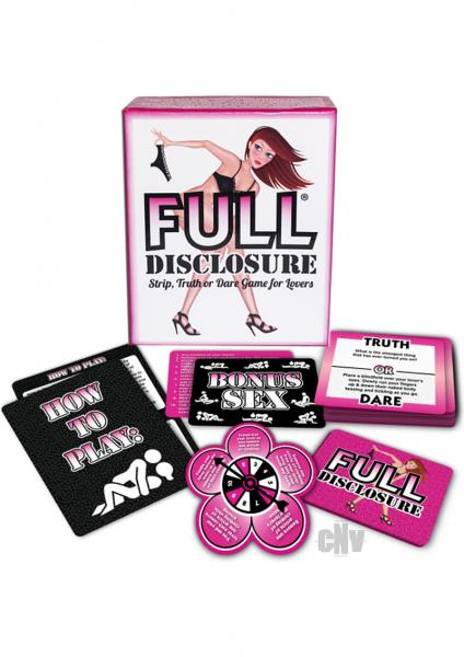 Full Disclosure Game for Lovers