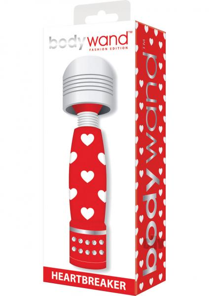 Bodywand Fashion Heartbreaker Red Mini Massager