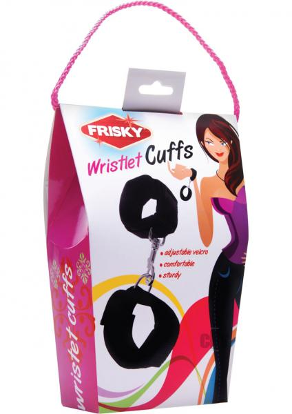 Frisky Wristlet Cuffs Black