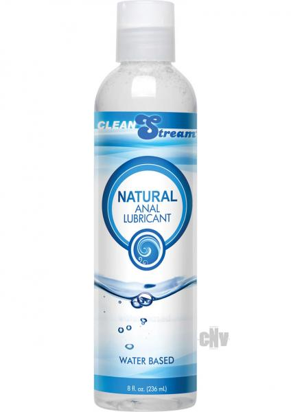 Clean Stream Anal Lube All Natural 8oz