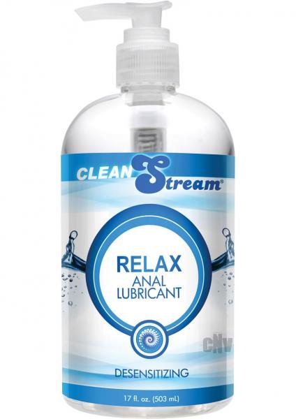 Clean Stream Relax Desensitizing Anal Lube 17.5oz