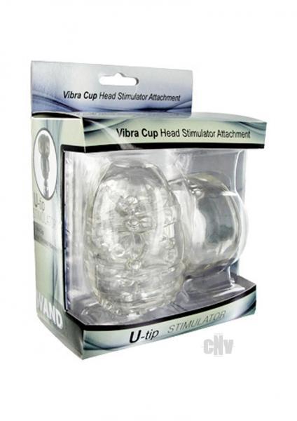 Wand Ess Vibra Cup Head Stim Attachment