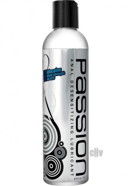 Passion Max Strength Anal Desensitizing Lube 8.25oz
