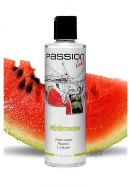 Passion Licks Watermelon Flavor Lubricant 8oz
