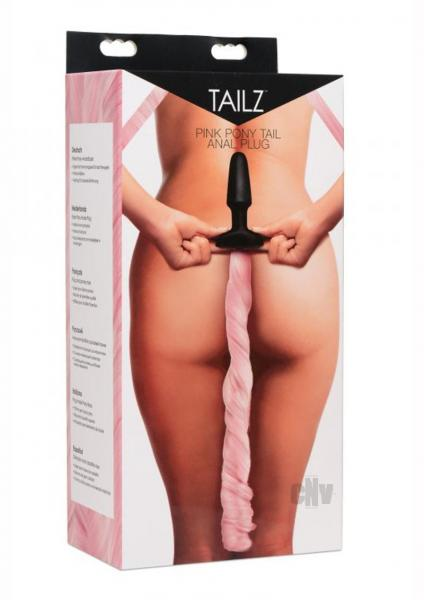 Tailz Pony Tail Anal Plug Pink