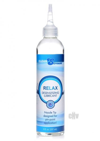 Relax Desensitizing Lubricant With Nozzle Tip 8oz.