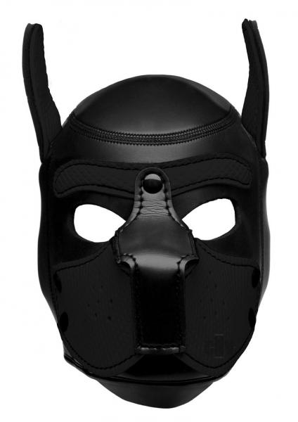 Spike Neoprene Puppy Hood Black O/S 1