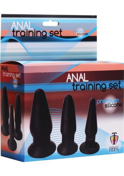Trinity Silicone Butt Plug Kit - Set 3