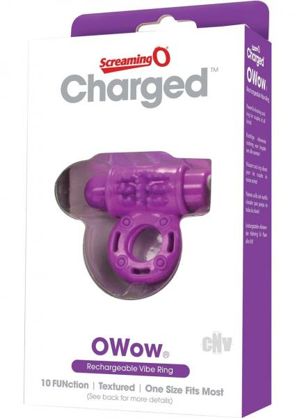 Charged O Wow Vooom Mini Vibe Purple