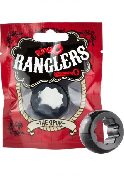 Ringo Rangler Spur Ring Individual Black