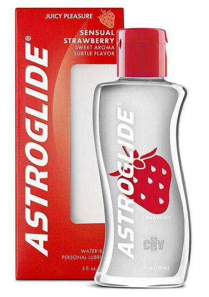 Astroglide Flavored Personal Lubricant Strawberry 5oz