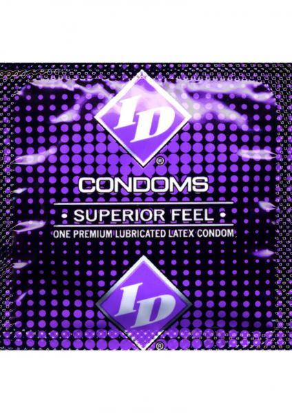 ID Superior Feel Condom 3 Pack Latex Condoms