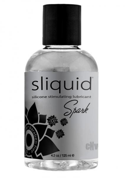 Sliquid Naturals Spark Booty Buzz Silicone Lubricant 4.2oz