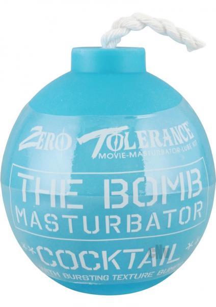The Bomb Cocktail Masturbator Blue