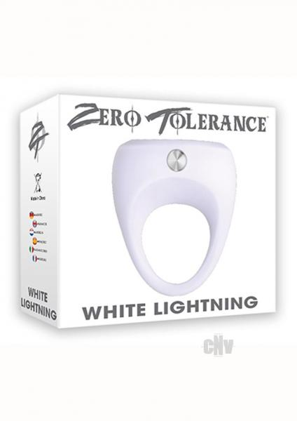 White Lightning Vibrating Cock Ring
