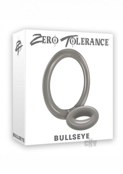 Bullseye Cock Ring Double Loop Ring Smoke