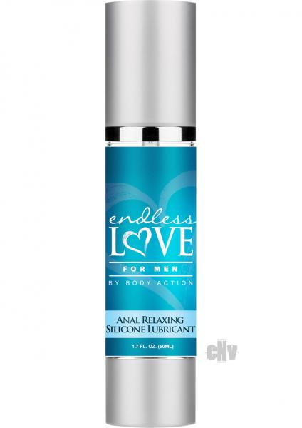 Endless Love Male Anal Relaxer Silicone 1.7oz