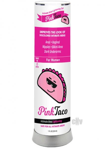 Pink Taco Intimate Area Lightening Gel 1oz
