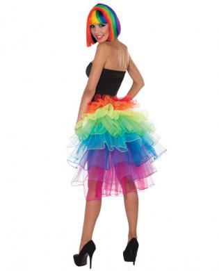 Rainbow Bustle O/S