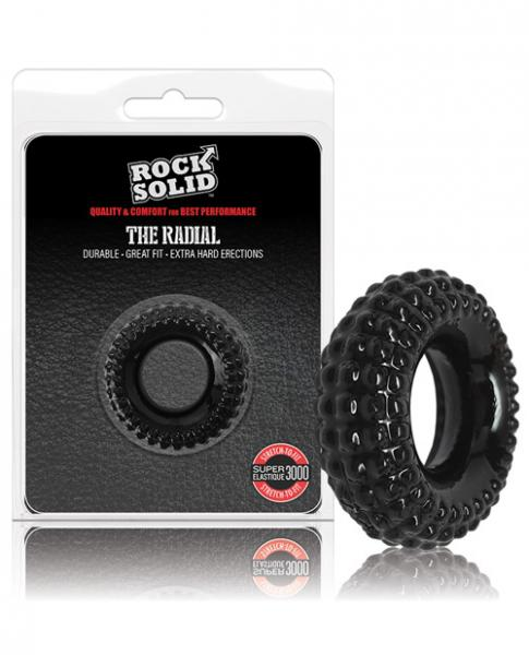Rock Solid Radial Cock Ring Black