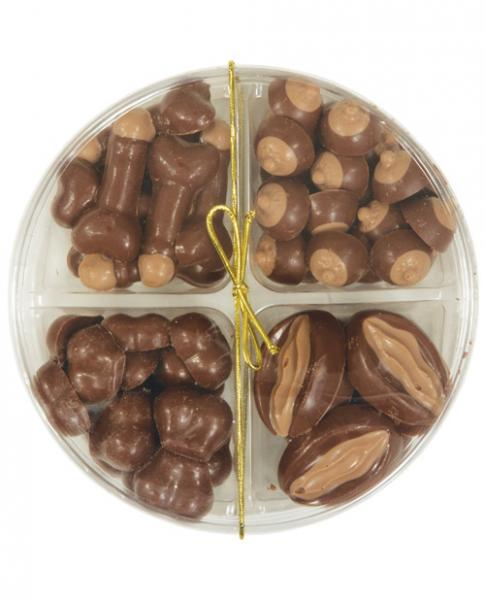Small Assortment 4 Styles In Round Pack - Milk Chocolate
