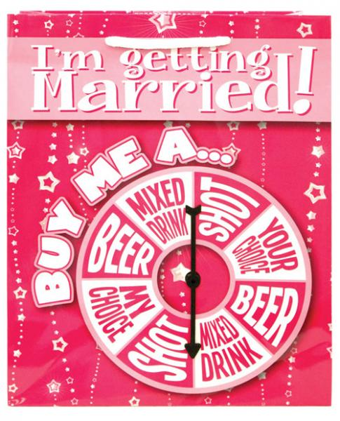 I'm Getting Married Buy Me A Spinner Gift Bag
