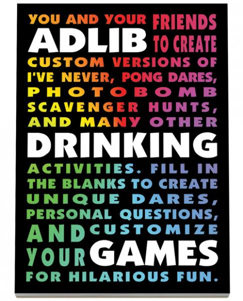 Drinking Ad Libs Games