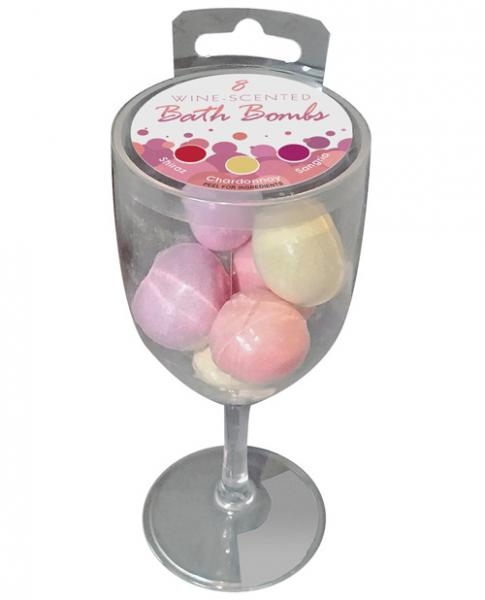 Wine Scented Bath Bombs Set Of 8