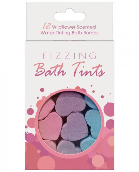Fizzing Bath Tints Bath Bombs Set Of 12